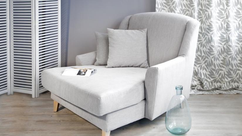 fotel rozkładany do spania nowoczesny