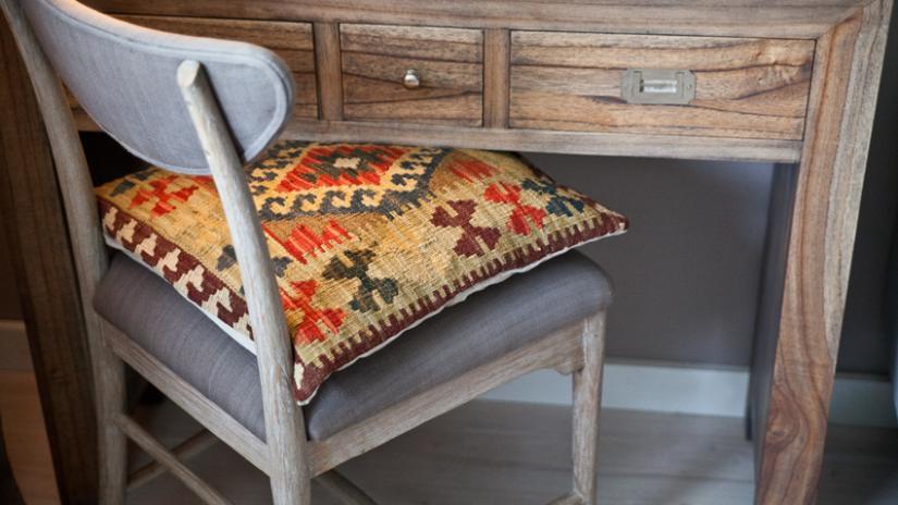 poduszki na krzesła boho