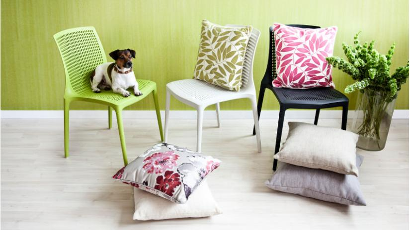 poduszki na krzesła kolorowe