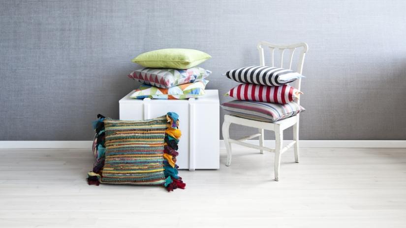 poduszki na krzesła we wzory