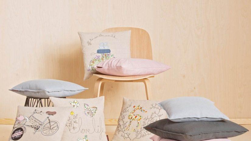 poduszki na krzesła shabby chic