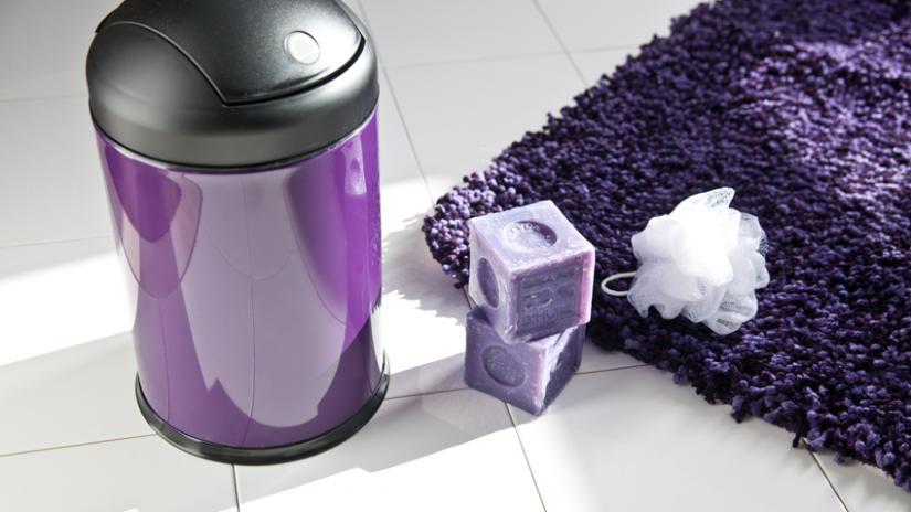dywan fioletowy do łazienki