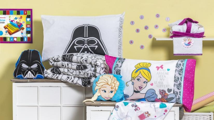 pokój dla chłopca i dziewczynki tekstylia