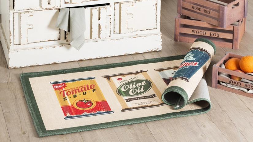 antypoślizgowy dywan do kuchni