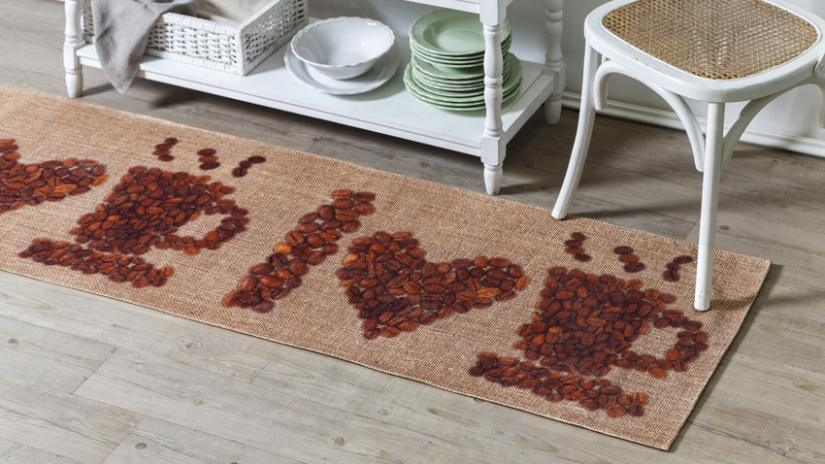 dywan do kuchni z kawą