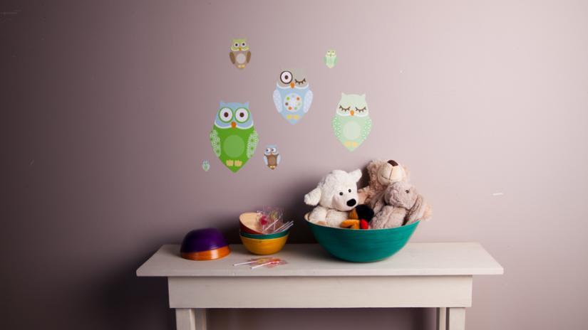 mały pokój dziecięcy ściany