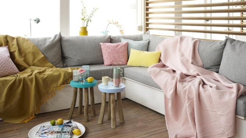 sofa modułowa tapicerowana