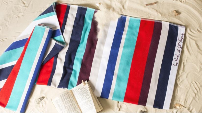 ręczniki plażowe dla dzieci kolorowe