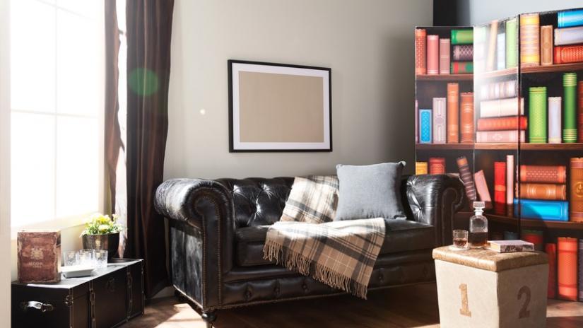 sofa z funkcją spania skórzana