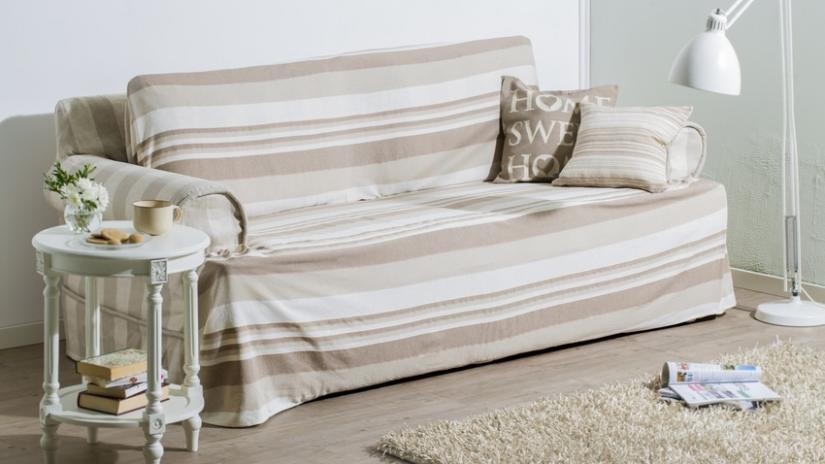 sofa z funkcją spania ze skrzynią