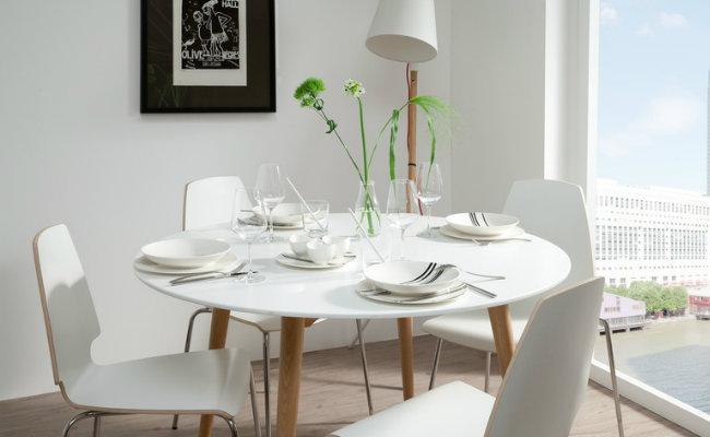 Białe wnętrze w stylu skandynawskim