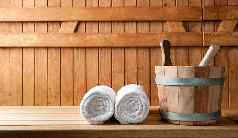 Miękki i puchaty ręcznik do sauny