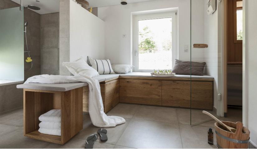 Praktyczny ręcznik do sauny