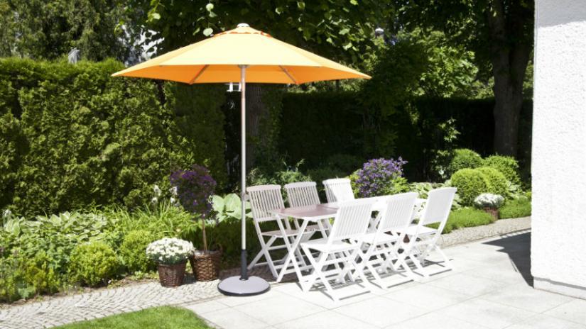 stół biały rozkładany ogrodowy