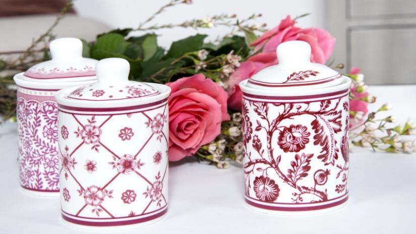 dekoracje do kuchni w kwiaty