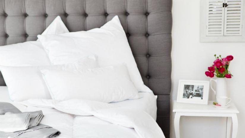 poduszka do spania na brzuchu z mikrowłókna