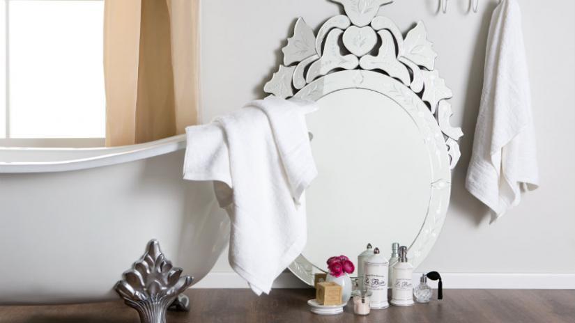 łazienka w stylu prowansalskim wyposażenie