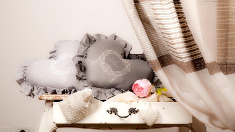 romantyczne zasłony do sypialni
