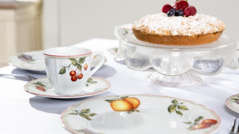 talerzyki do ciasta we wzory