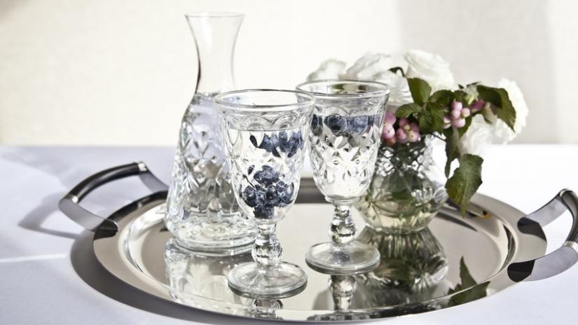 kieliszki do wody szklane