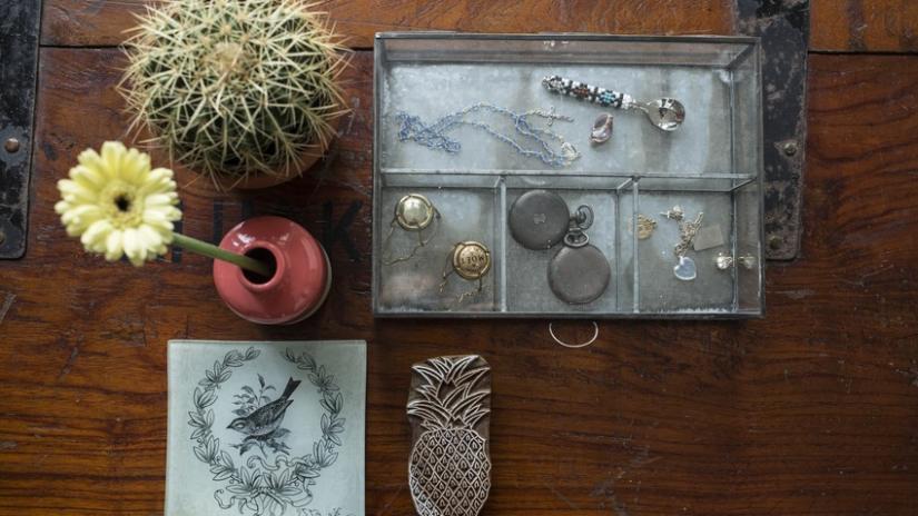 organizer do szuflady na biżuterię