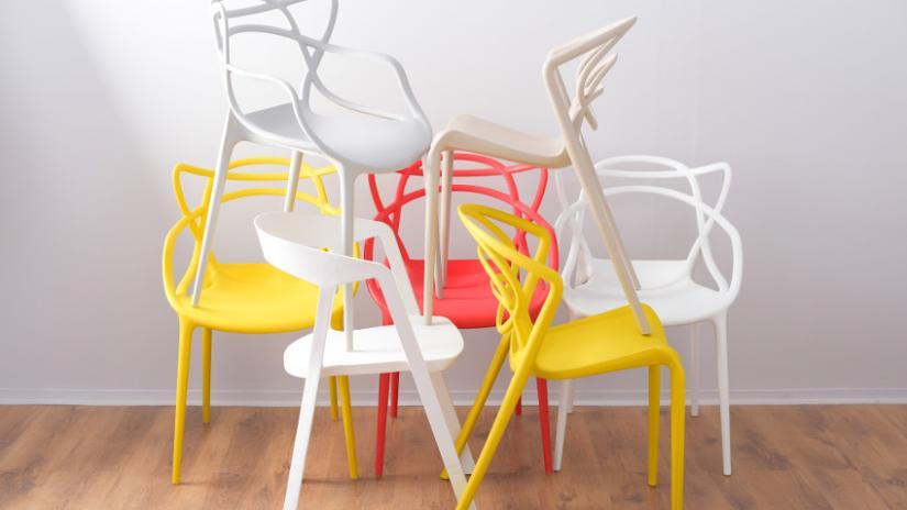 kolorowe krzesła nowoczesne