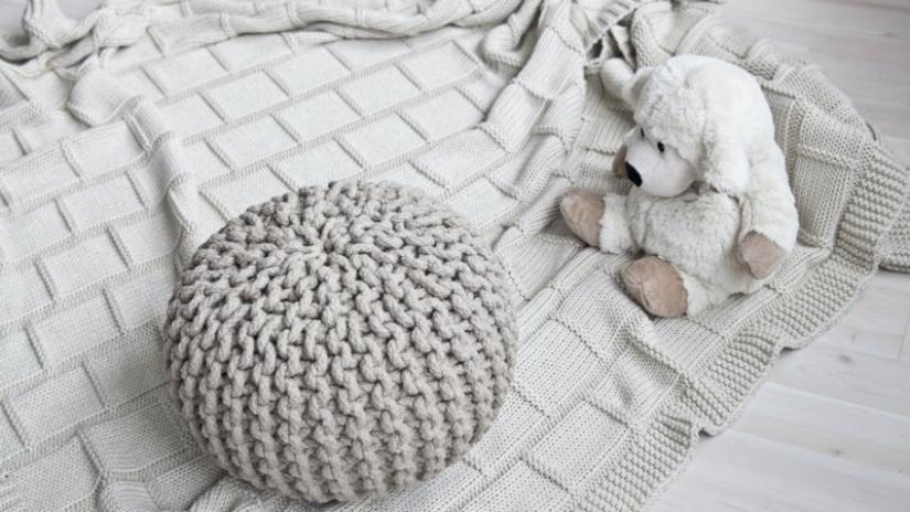 narzuty bawełniane do pokoju dziecka