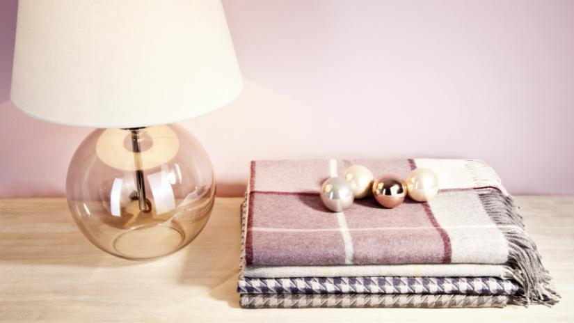 narzuty bawełniane do salonu