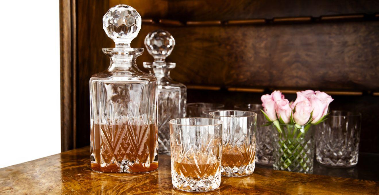 Kryształowe kieliszki do wina