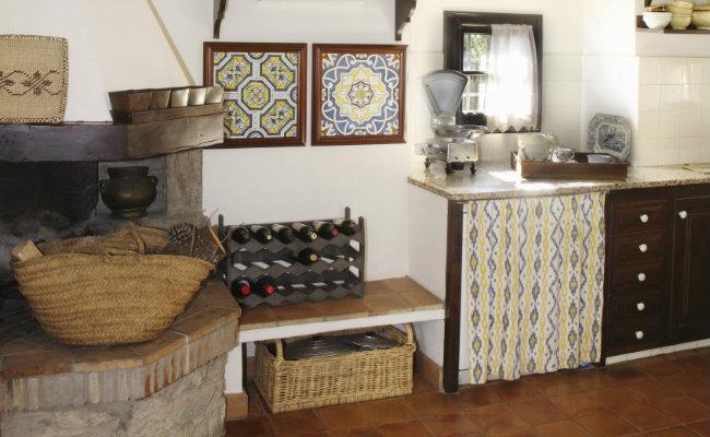 Meble kuchenne w stylu rustykalnym