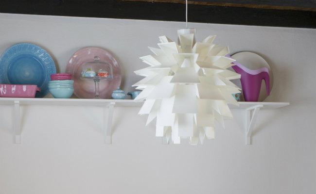 Papierowa lampa