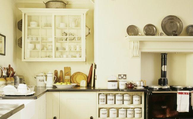 Tradycyjne meble kuchenne w stylu angielskim
