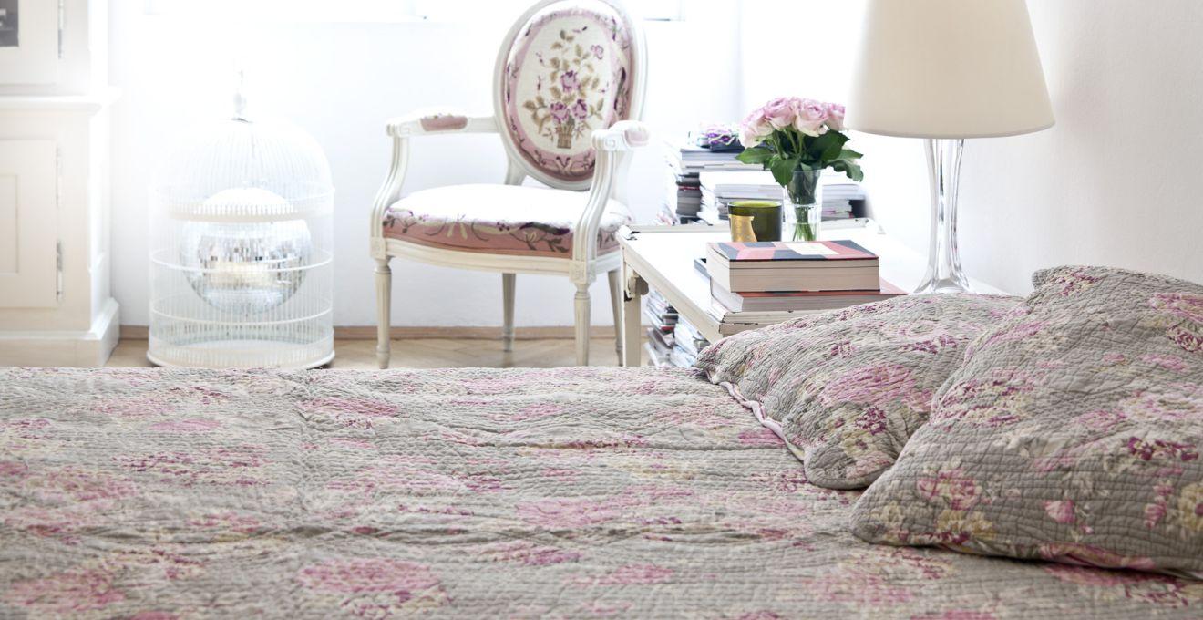 Fotel w stylu prowansalskim