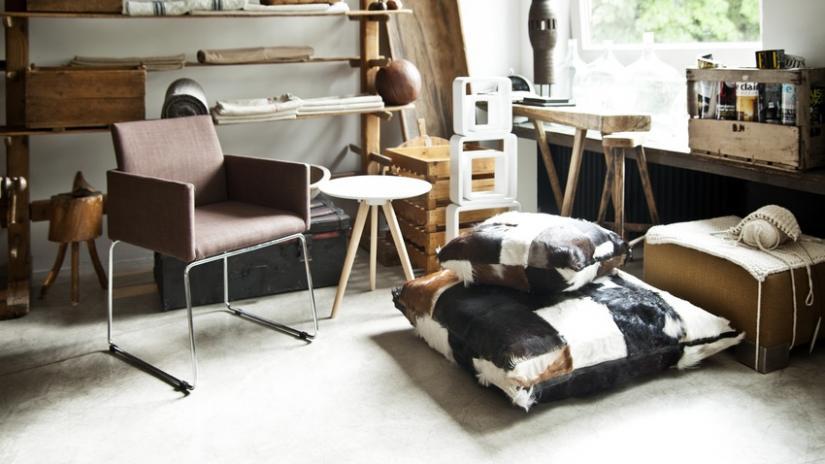 krzesła kuchenne na płozach tapicerowane