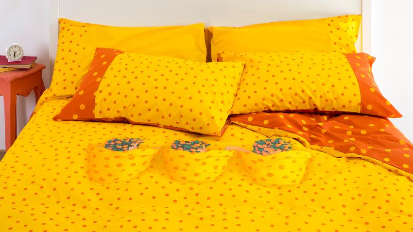 Żółta pościel