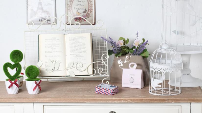 klatki dekoracyjne białe