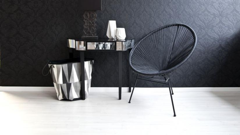 krzesło kubełkowe do salonu