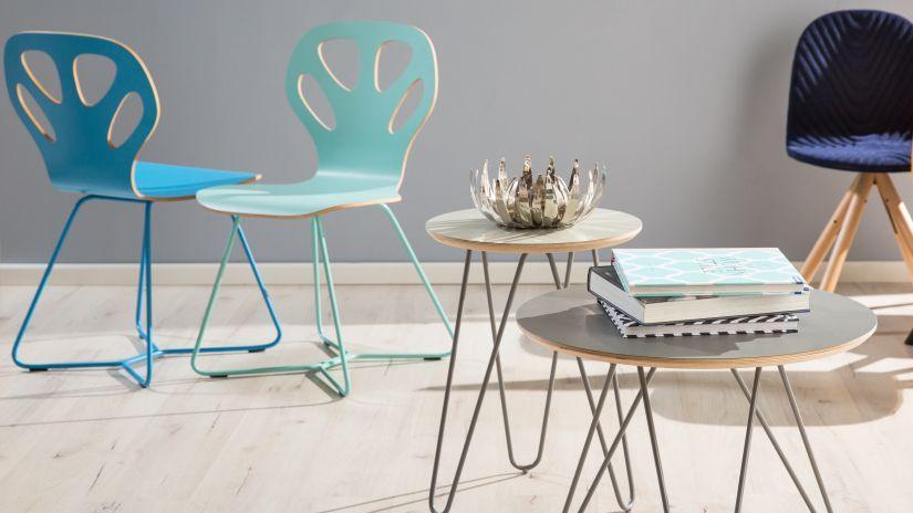 krzesło turkusowe nowoczesne