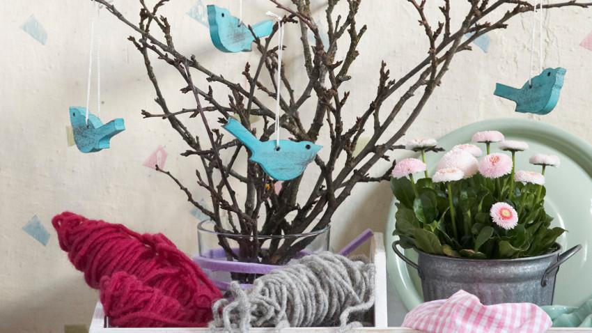Dekoracje Wiosenne Z Papieru Wiosna W Każdym Kącie Westwing