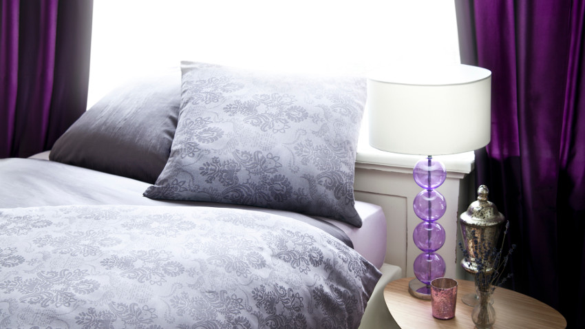 Szare poduszki