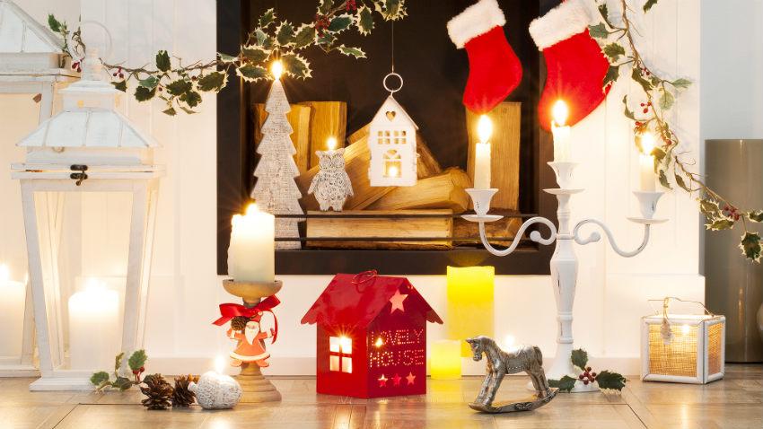 Świeczniki bożonarodzeniowe