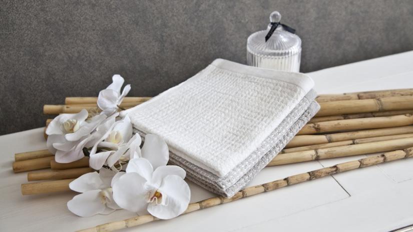 ozdoby z bambusa do łazienki
