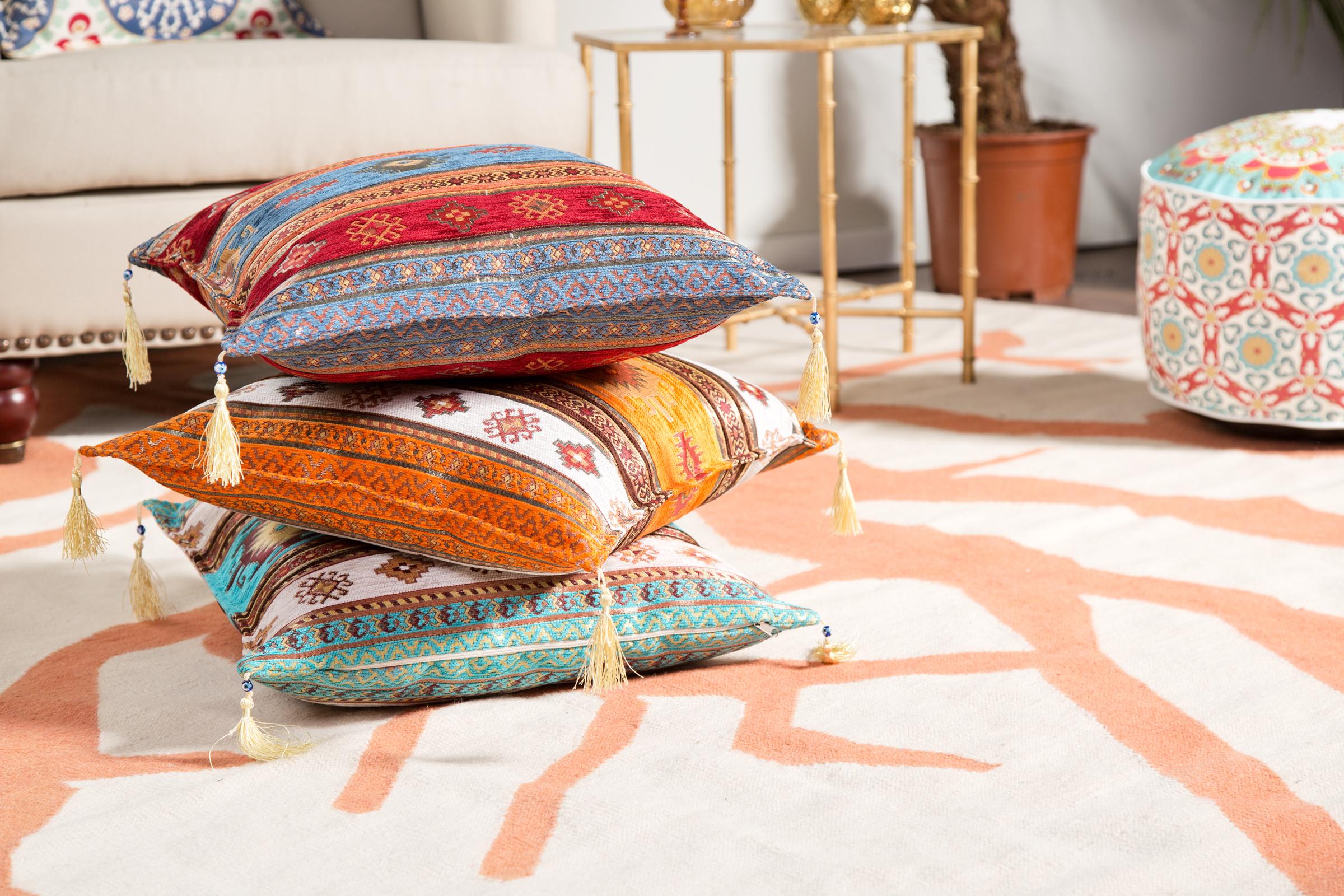 Sypialnia w stylu indyjskim