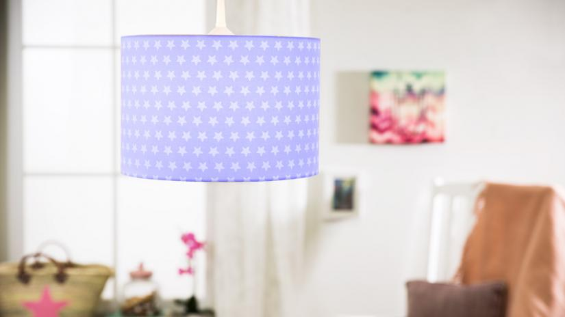 lampa niebieska wisząca