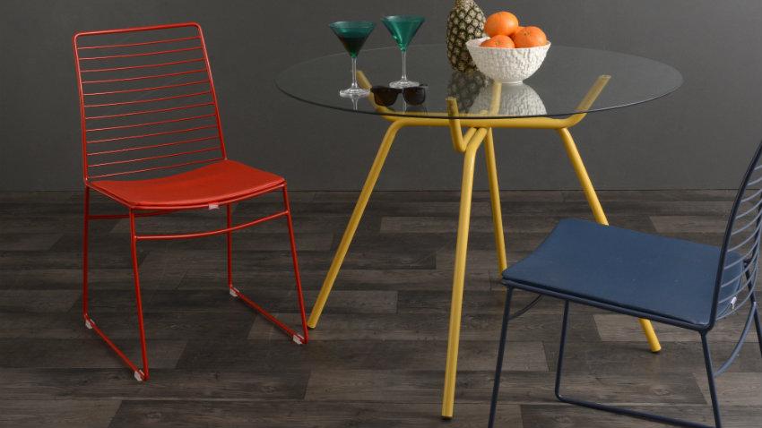Krzesło stalowe