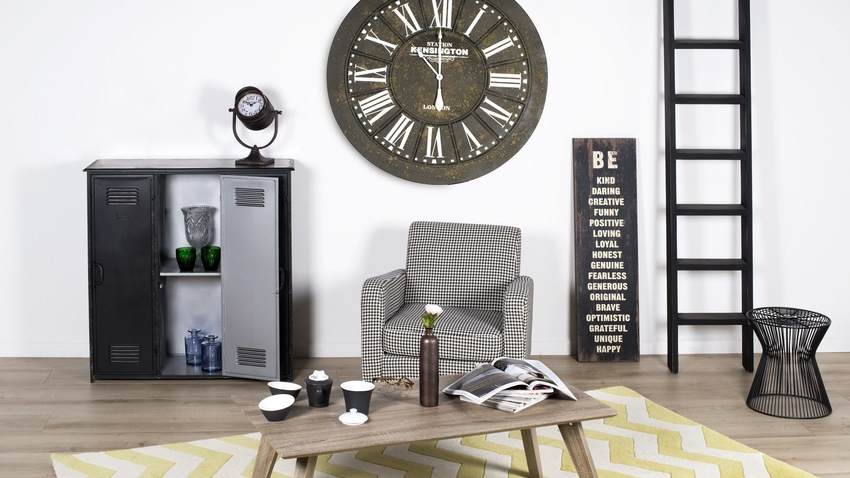 Veľké nástenné hodiny do obývačky
