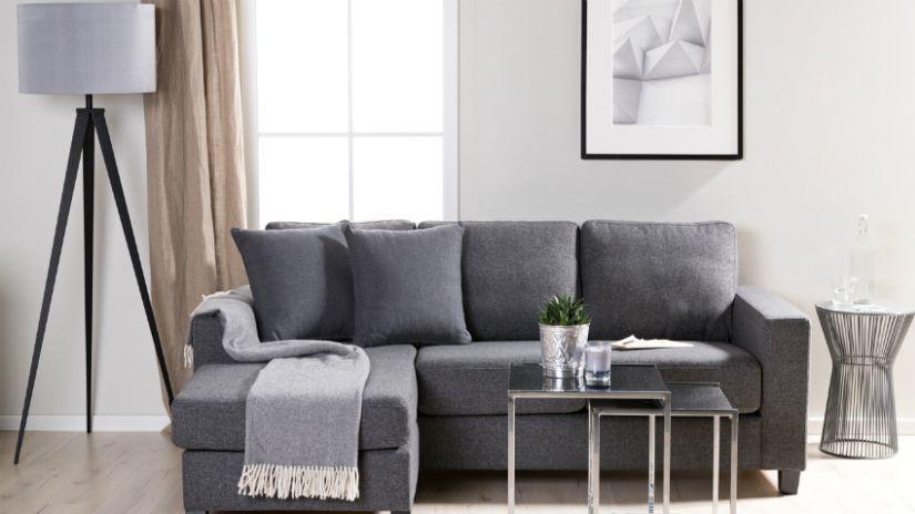 Elegantná sivá rozkladacia poste+