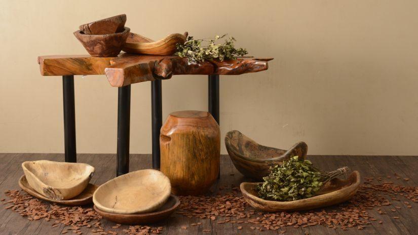 Misky z kvalitného dreva