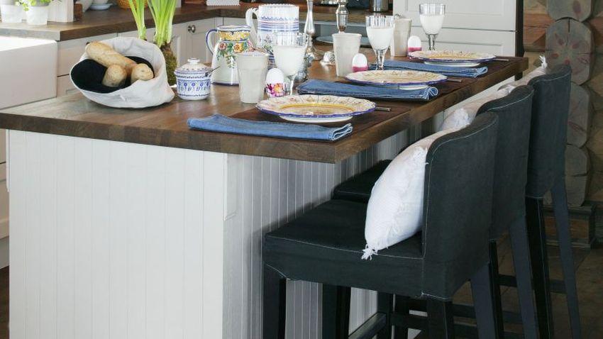 Vysoké stoličky do kuchyne
