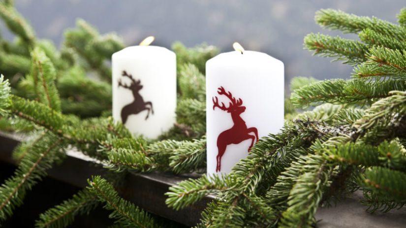 Osvetlenie s vianočným motívom